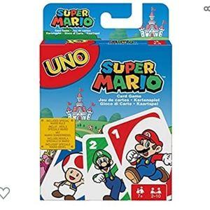 5/$25 UNO: Super Mario - Card Game NEW